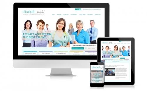 Responsive Web Design & Development Elizibeth Todd HR