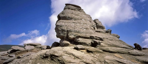 Romania - The Sphinx (Bucegi mountains)