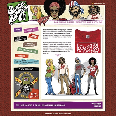 Slack Hammock, Bristol - branding, illustration, product development, ecommerce website design and build