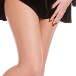 Remove unsightly thread veins on the legs