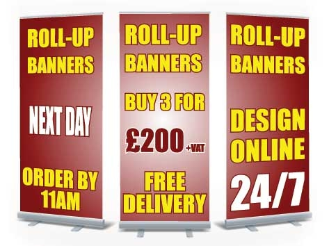 Roll Up Banners Special Offer 200