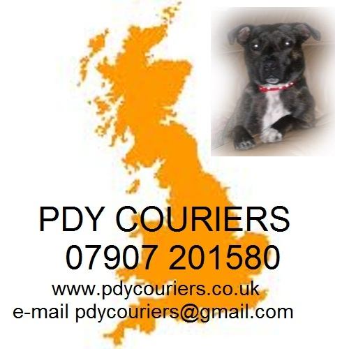 Pdy Couriers Logo