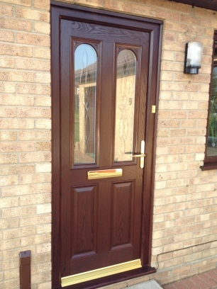 Rosewood composite door in Woodbridge