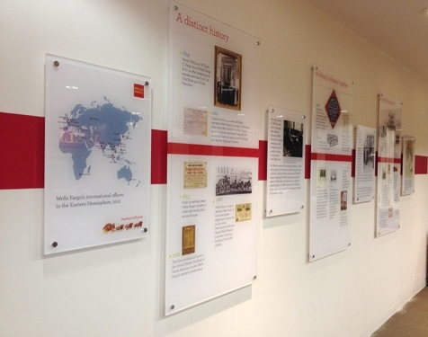 Wells Fargo Wall Display
