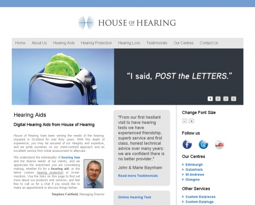 Website: House of Hearing