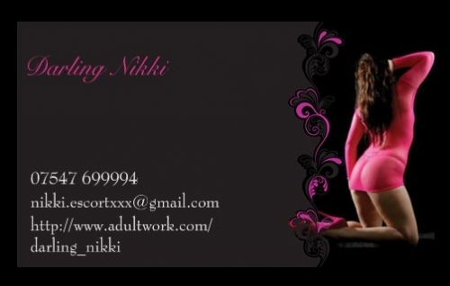 Business Card Darling Nikki