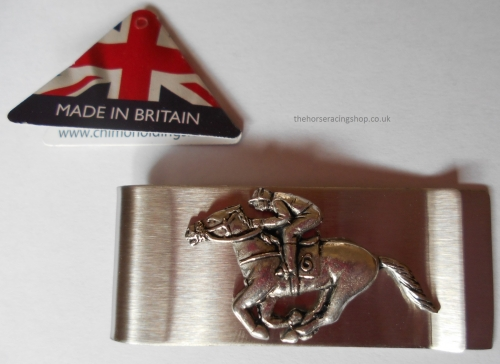 Horse Racing Money Clip