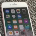 Used iPhone 7 Rose Gold 32GB Vodafone