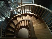 Manor Fields Drive Spiral Oak Staircase 13