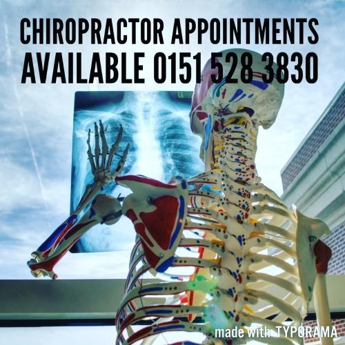 Chiropractic Consultation