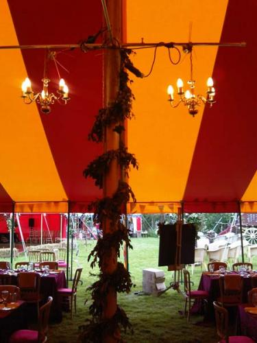 marquee lighting hire, chandeleirs