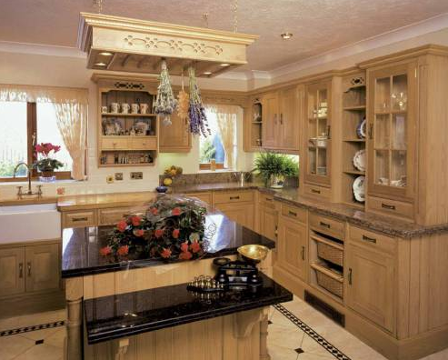 natural oak is still a popular choice, available in traditional and modern styles