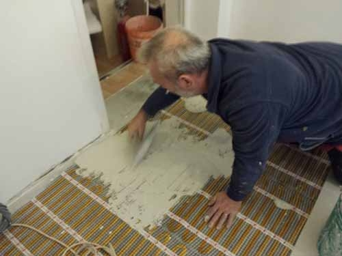 Gold Mat Screeding-in