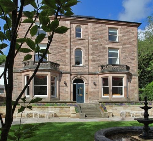 Portland House c1870 BIG 5* House Hire in Matlock Bath Peak District Derbyshire Near Chatsworth
