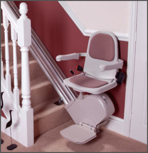Acorn Staight Stairlifts Supplied & Fitted by Newbury Mobility.co.uk