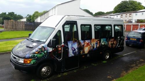 16 seater private hire