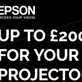 Epson Cashback Projector Promotion
