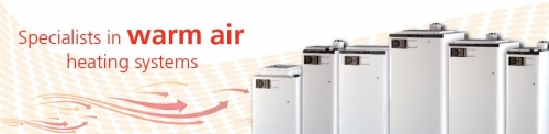 Economaire;  J Series and Brink Warm air Units