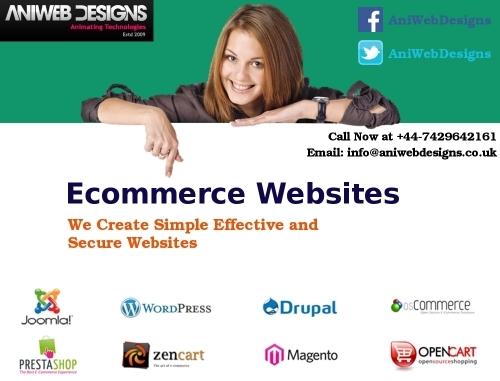 Ecommerce Websites Company London - Aniwebdesigns