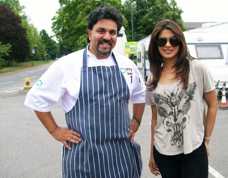 BOLLYWOOD LEGEND PRIYANK CHOPRA CATERED FOR BY RAZ FOR 3 WKS.