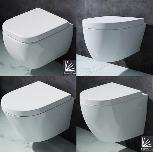 Aachen Wall Hung Toilet Range