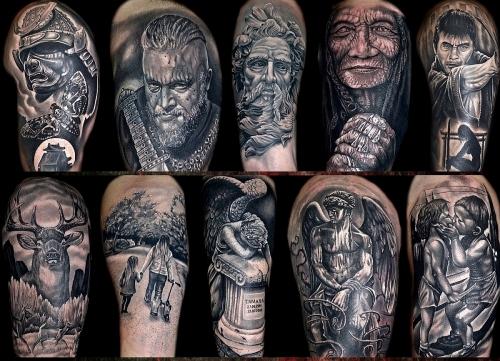 Realism tattoo art