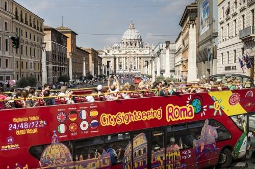Buy Rome Hop-On Hop-Off Bus Tour Tickets
