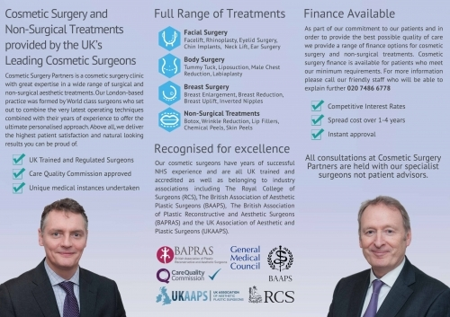 Cosmetic Surgery Partners about our clinic