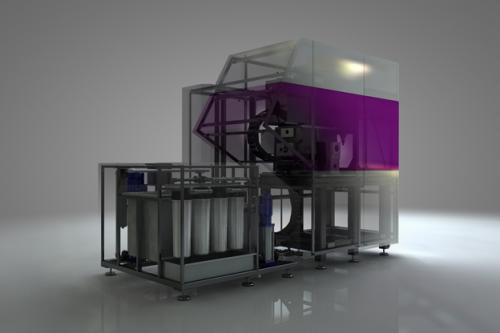 ECM machine design for Ultra Systems ltd