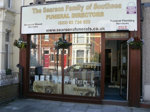 Our Funeral Home in Southsea