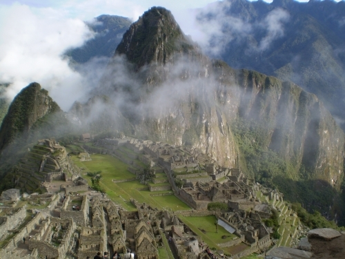 Machu Picchu, Peru - One of the Seven New Wonders of the World