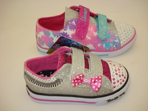 Skecher Twinkle toes from America. Every little girl like light up trainers.