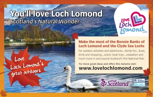 Love Loch Lomond this autumn.