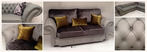 Button Detailed Sofas