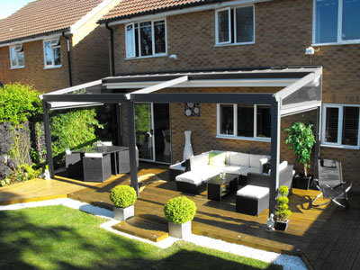 Pratic All Weather Pergola and Terrace Awning