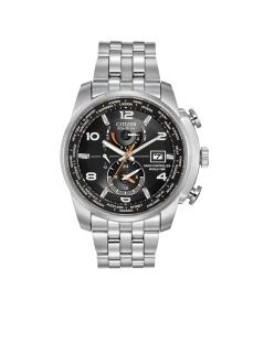 Citizen Gentlemans World Timer Radio Controlled Watch P121 20404 Image