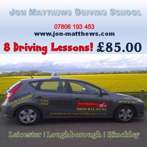 8 Driving Lessons
