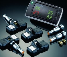 Tyre Pressure Monitoring Systems installed