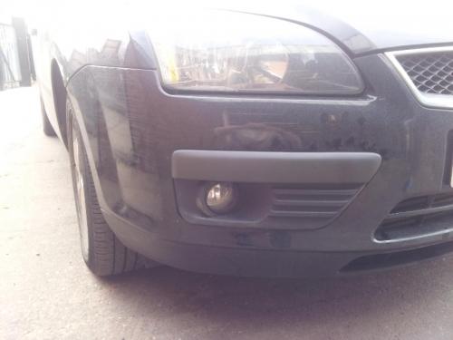 2 Front Car Damage After