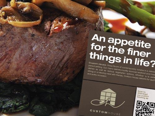 Custom House advertising scheme