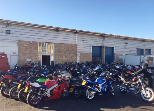 Busy weekend for We Buy Any Bike!