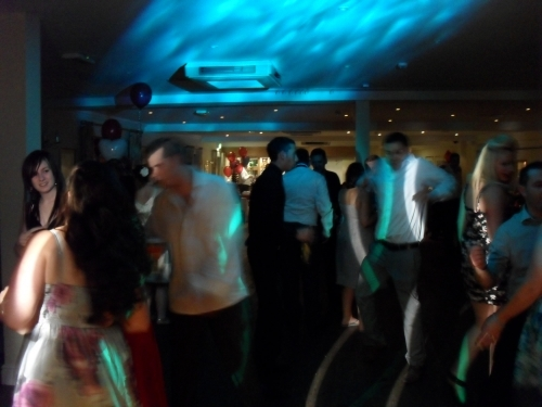 Mobile Disco In Essex with the water wave disco light