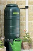 Waterbutt100ltr with stand, tap, lid and diverter ONLY £88.95 FITTED