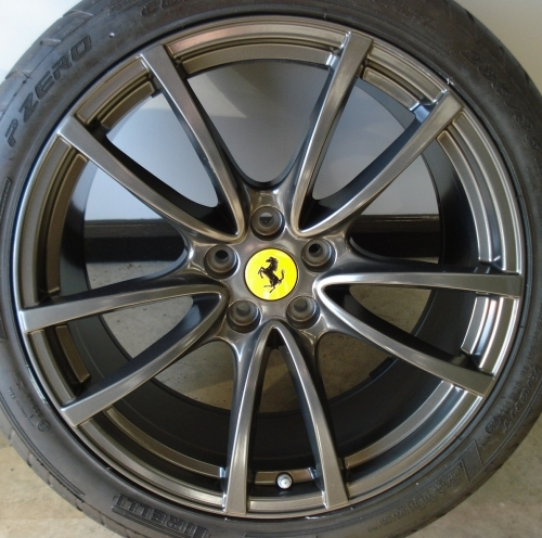 Alloy Wheel Refinishing Nottingham Ferrari 430 Scuderia
