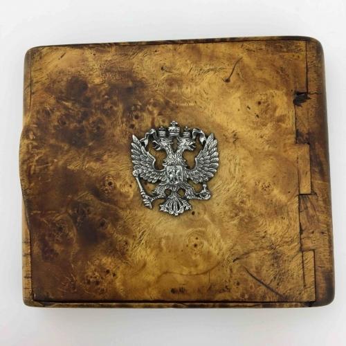 Antique Russian Empire cigarettes case