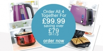 Kitchen Bundle - order all 4 together online and saving over £79 on r.r.p!!!