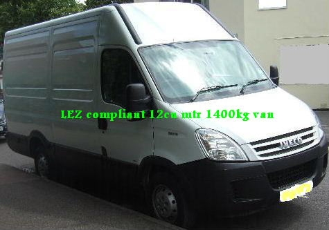 Lez Comp 12 Cu Mtr Panel Van