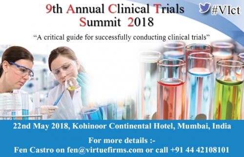 9th Annual Clinical Trials Summit 2018