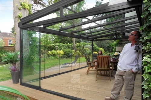 Glass Rooms offer a Frameless Garden View