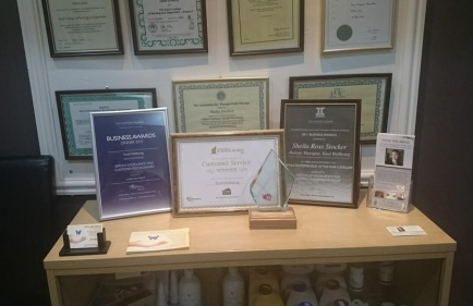 I am very proud of our Business Awards - WINNER of Customer Service Award 2014 -- HIGHLY COMMENDED for Service Excellence and customer focus award 2015 - HIGHLY COMMENDED Female entrepreneur of the year